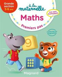A la maternelle, maths, grande section, 5-6 ans