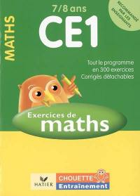 Exercices de maths CE1, 7-8 ans