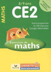 Exercices de maths CE2, 8-9 ans