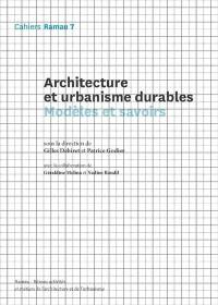 Architecture et urbanisme durables