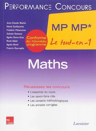livre maths mp mp lavoisier tec