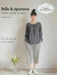 Livre : Belle & épanouie écrit par Yoshiko Tsukiori Editions de Saxe