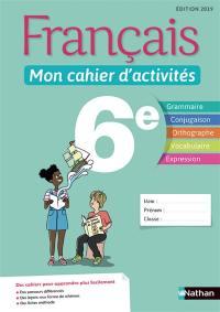 Livre Francais Mon Cahier D Activites 5e Ecrit Par