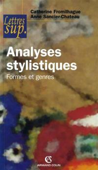 Analyses stylistiques