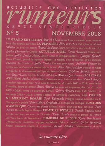 Le printemps des poètes : Musique et Poésie avec Sophie Charpentier et la Revue La Rumeur Libre